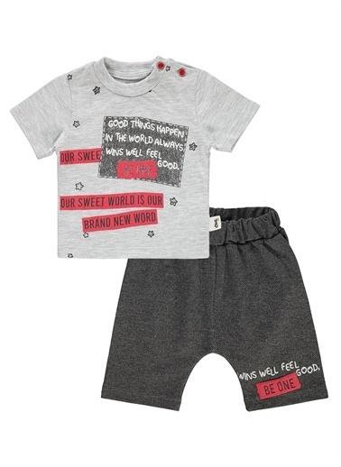 Civil Baby Civil Baby Erkek Bebek şortlu Takım 3-12 Ay Beyaz Civil Baby Erkek Bebek şortlu Takım 3-12 Ay Beyaz Gri